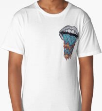 Hazy Mouth Collection Long T-Shirt