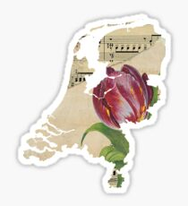 Netherlands Tulip Sticker