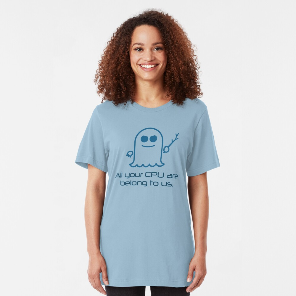 Spectre: All Your CPU Slim Fit T-Shirt