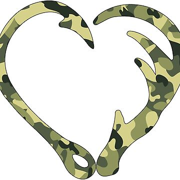 Love Hunting Camo Green by alydcci