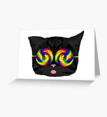 Gato Greeting Card