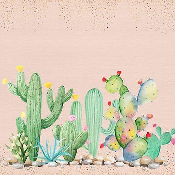 Bohemian Glam Cactus by crazycanonmom