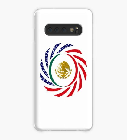 Mexican American Multinational Patriot Flag Series Case/Skin for Samsung Galaxy