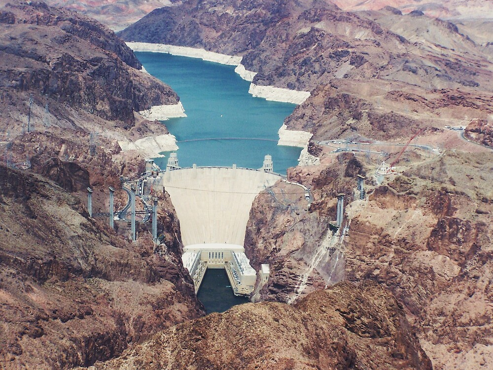 Hover Dam, Lake Meade, Nevada by Opal Westmoreland