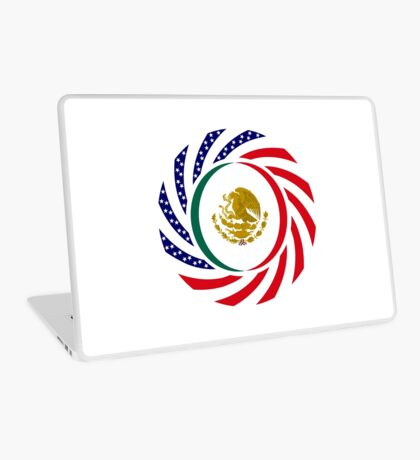 Mexican American Multinational Patriot Flag Series Laptop Skin
