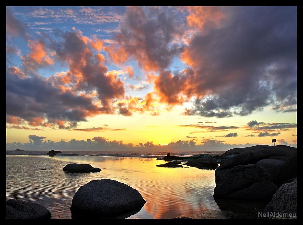 Cape Town Sunset by NeilAlderney
