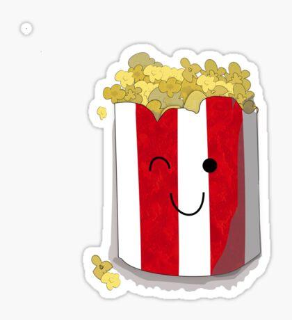 Poppin' Popcorn Sticker