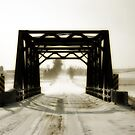 Wintery Bridge by Michael Coots