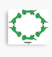 rexagon Canvas Print