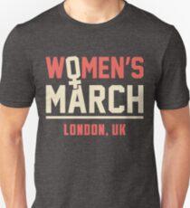 Women's March 2018 on London, UK, Power to the Polls Las Vegas, Nevada on january 20th Shirt Unisex T-Shirt
