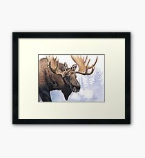 The Old King Framed Print