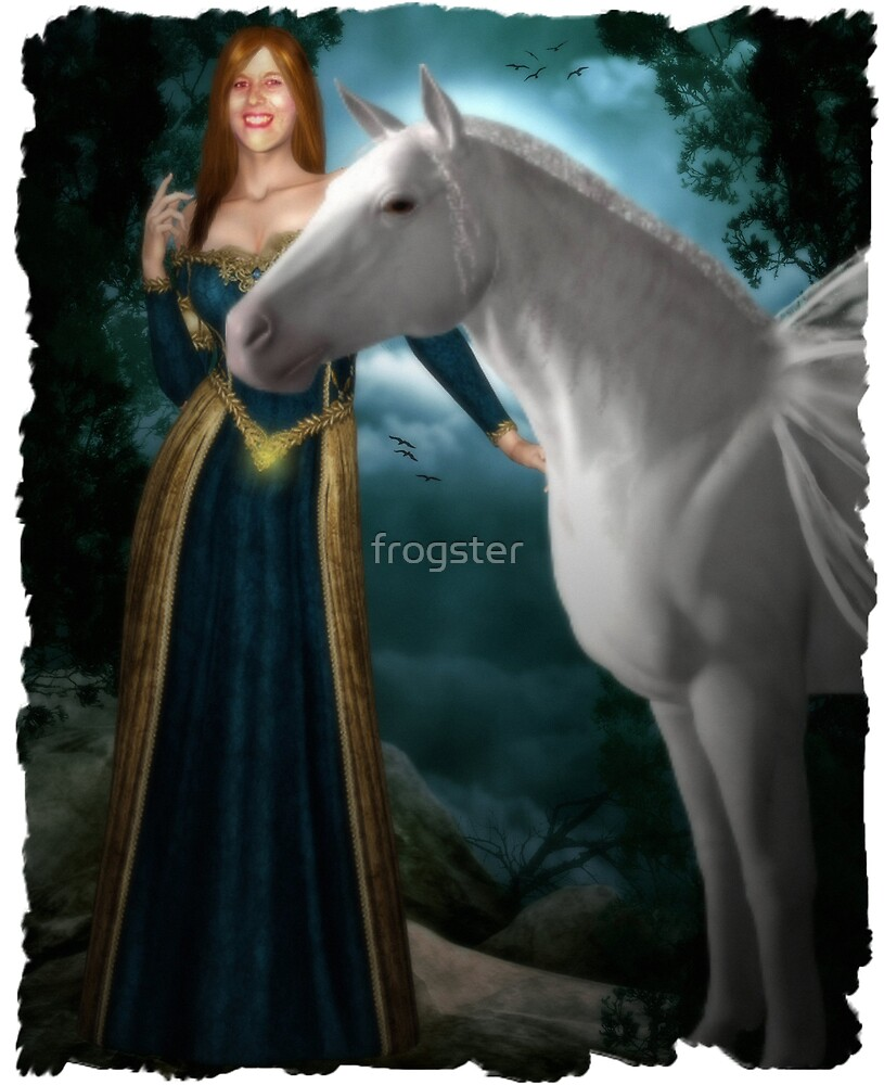 The Princess And The Pegasus by frogster