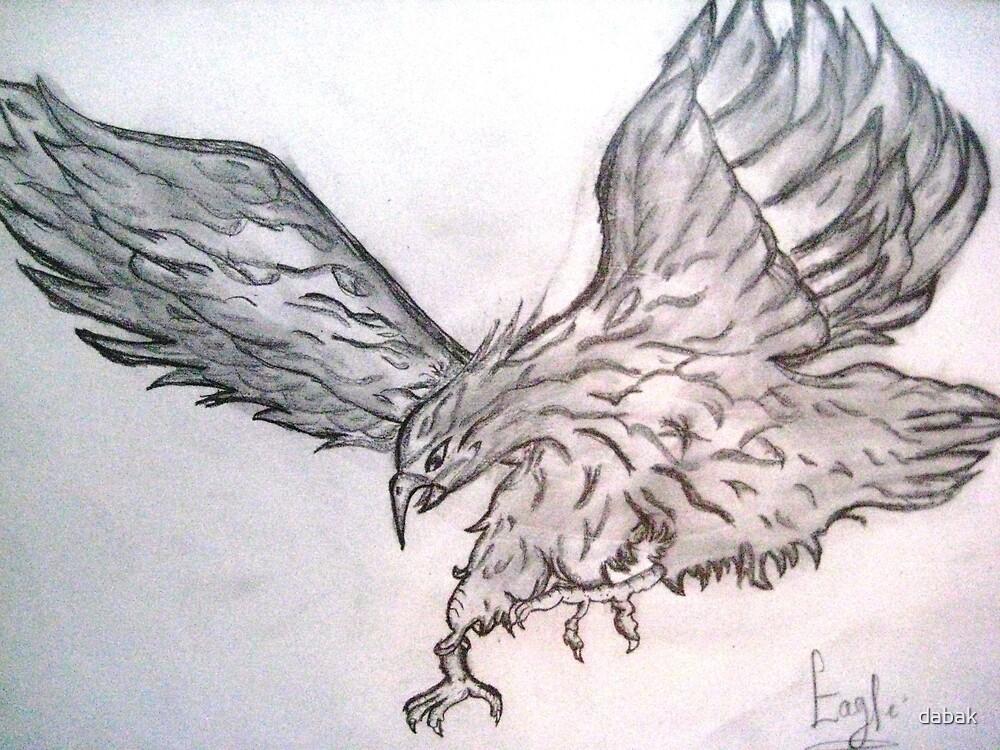 Eagle by dabak