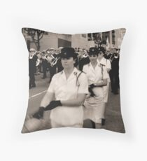 Salvation Army Band Throw Pillow
