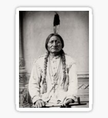 Sitting Bull - © Doc Braham; All Rights Reserved Sticker