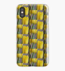 Yellow Tulips 4 iPhone X Case