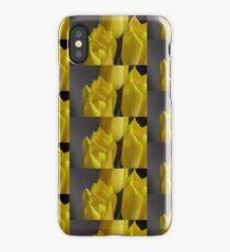 Yellow Tulips 6 iPhone X Case