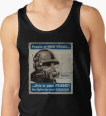 He Fights For Your Freedom! - NCR Tank Top