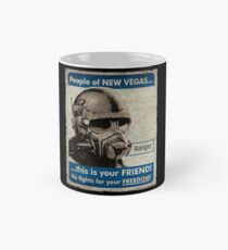 He Fights For Your Freedom! - NCR Mug