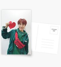 BTS HEART SELCA J-HOPE Postcards
