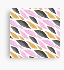 Graphic Waves Canvas Print
