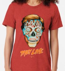 They Live - Classic Movies Tri-blend T-Shirt