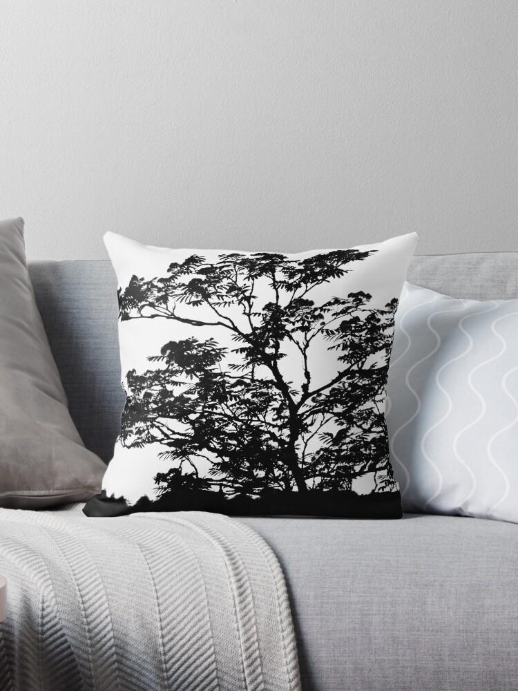 AYAHUASCA [Throw pillows] by Matti Ollikainen