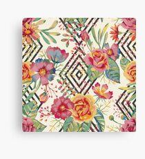 Flower Graphic  Canvas Print