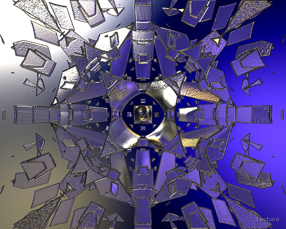 Symmetric Glass by Luchare