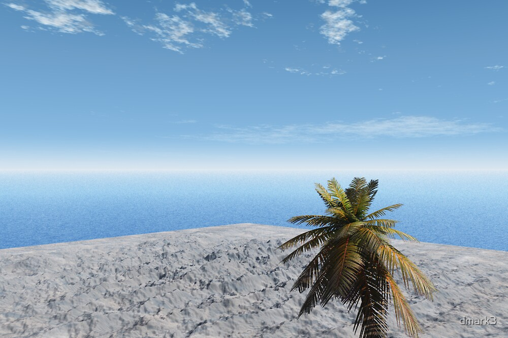Island in the Sea by dmark3