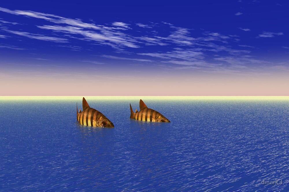 Two Fish in the Sea by dmark3