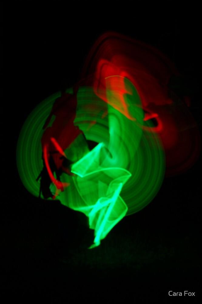 Glow Stick Art by Cara Fox