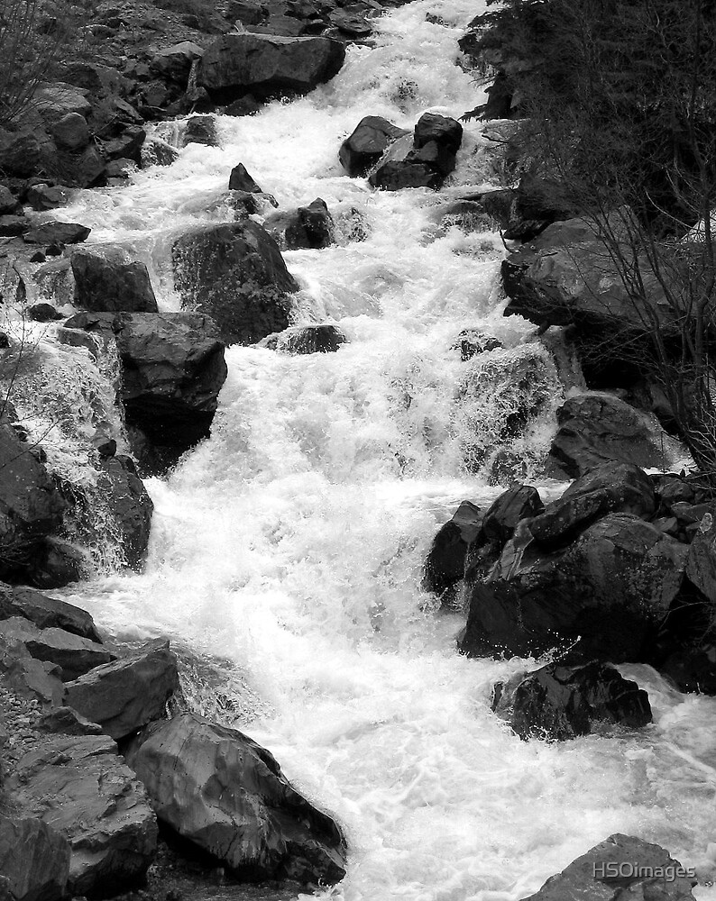 Mountain Stream in Spring by HSOimages