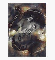 Golden Space Boyfriend Photographic Print