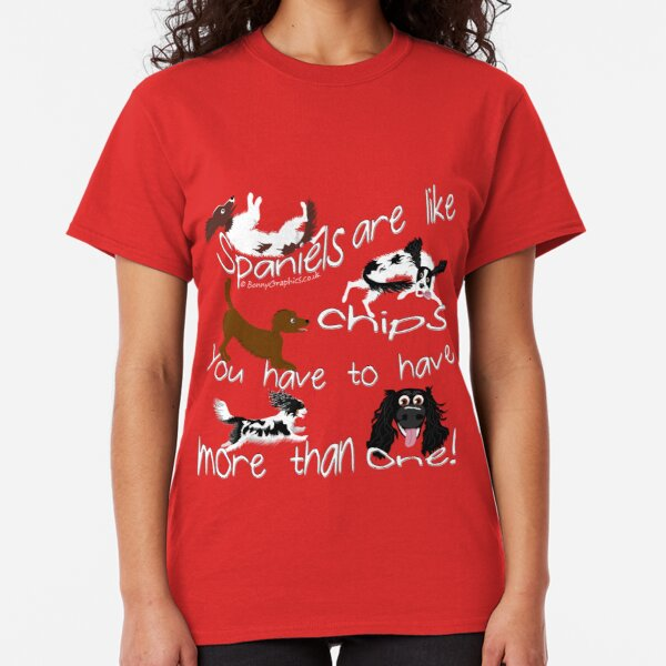 More than one spaniel! Classic T-Shirt