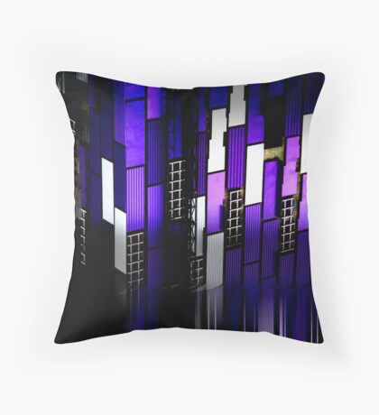 urb reverberation (the sentients) Throw Pillow