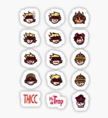 Monarch and friends Emotes Sticker