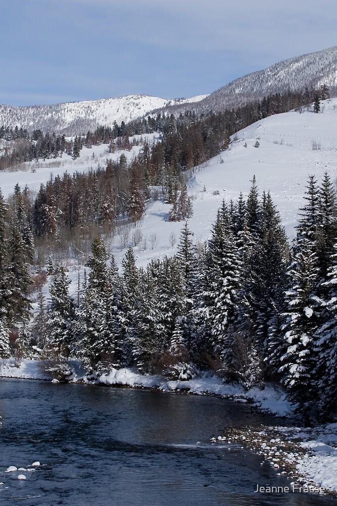 Blue River View by Jeanne Frasse