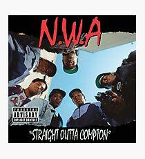 NWA - Straight Outta Compton Photographic Print