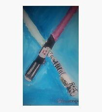 light sabers Photographic Print