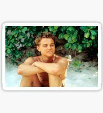 Leonardo DiCaprio Shirt Off Sticker