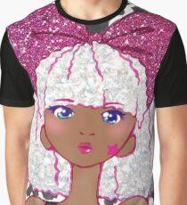 Cute Kawaii Glitter Diva L.O.L. Surprise Doll Anime Fan Art Graphic T-Shirt