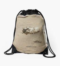 Beach Desert Drawstring Bag