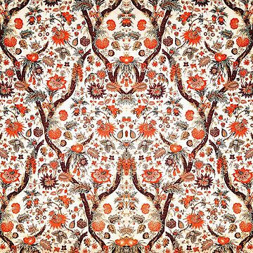 Floral Fabric Vintage Gift Pattern #7 by NeonAbstracts