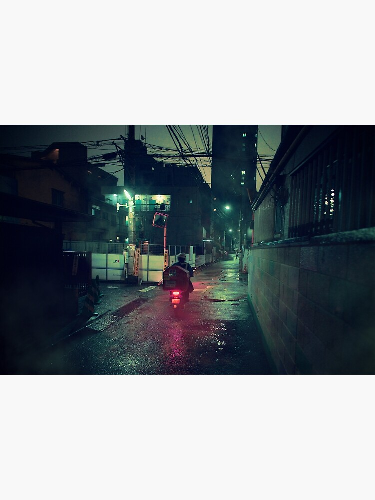 Neo Tokyo - Midnight Delivery by TokyoLuv