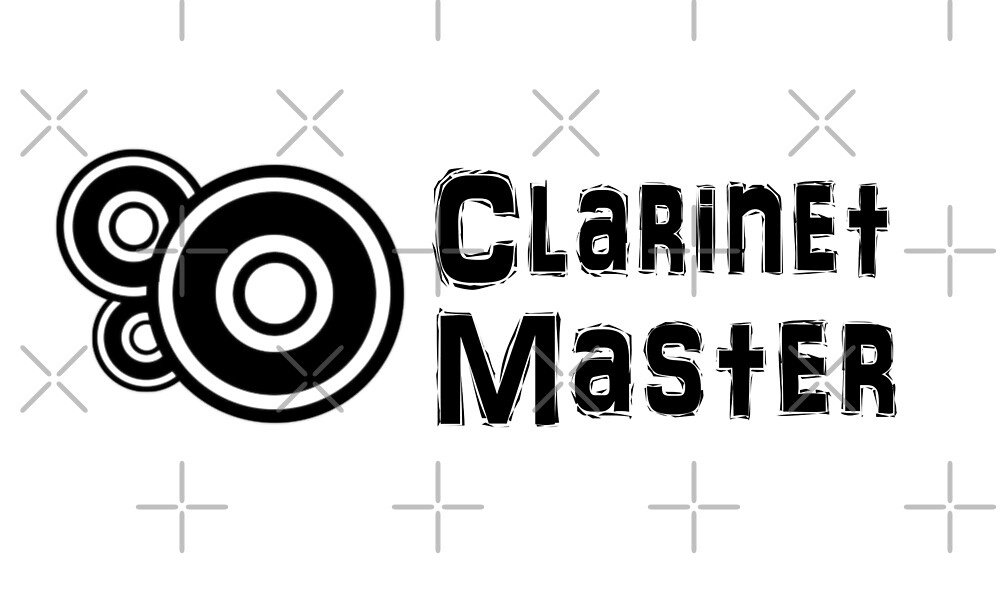 Clarinet Master - Funny Clarinet T Shirt  by greatshirts