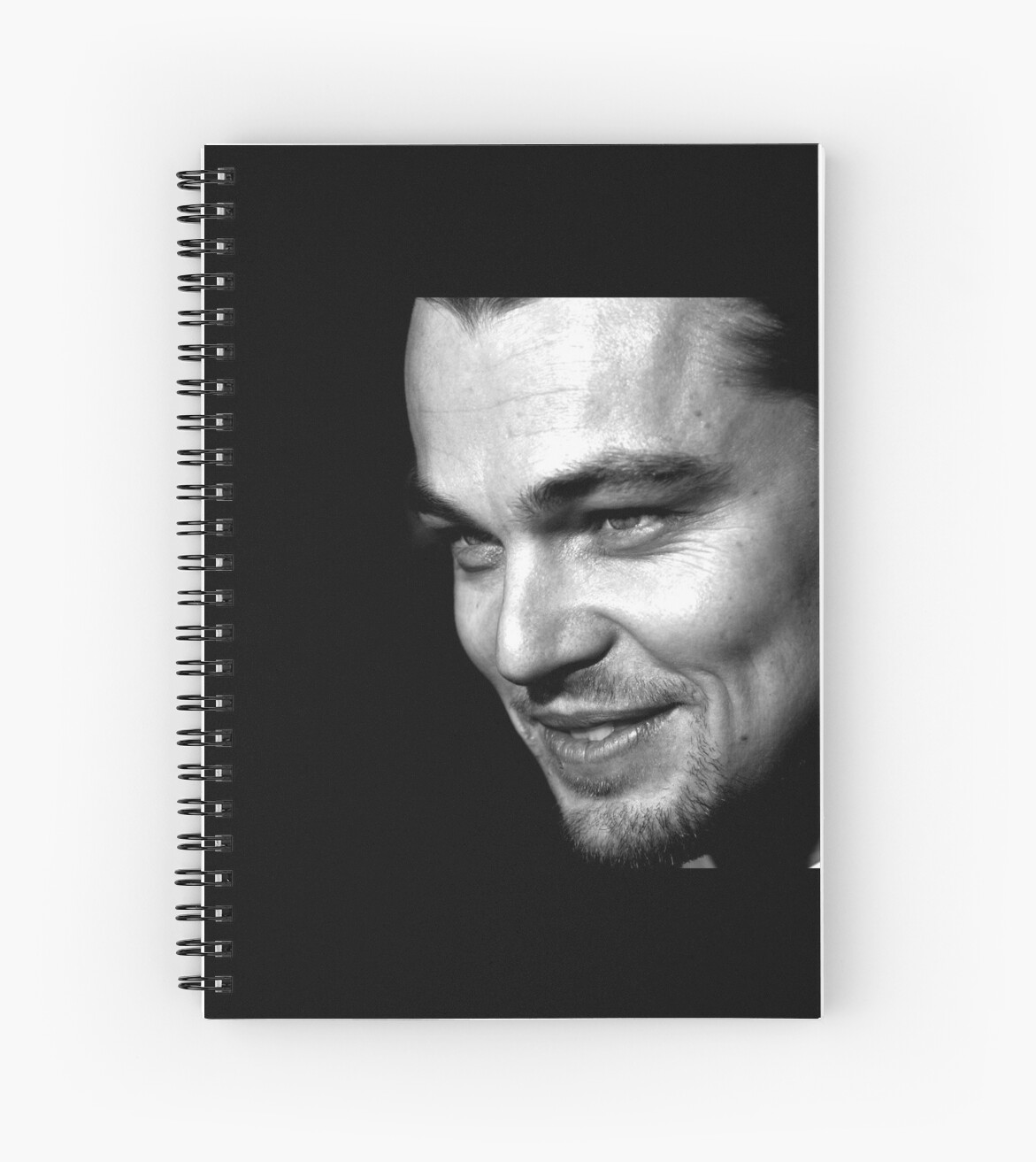 Leonardo Dicaprio Sexy Face Spiral Notebooks By Wasabi67 Redbubble