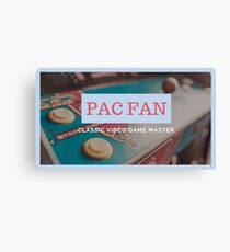 Pac Fan Canvas Print