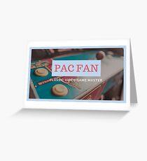 Pac Fan Greeting Card