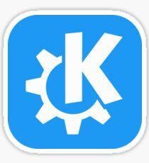 KDE Sticker